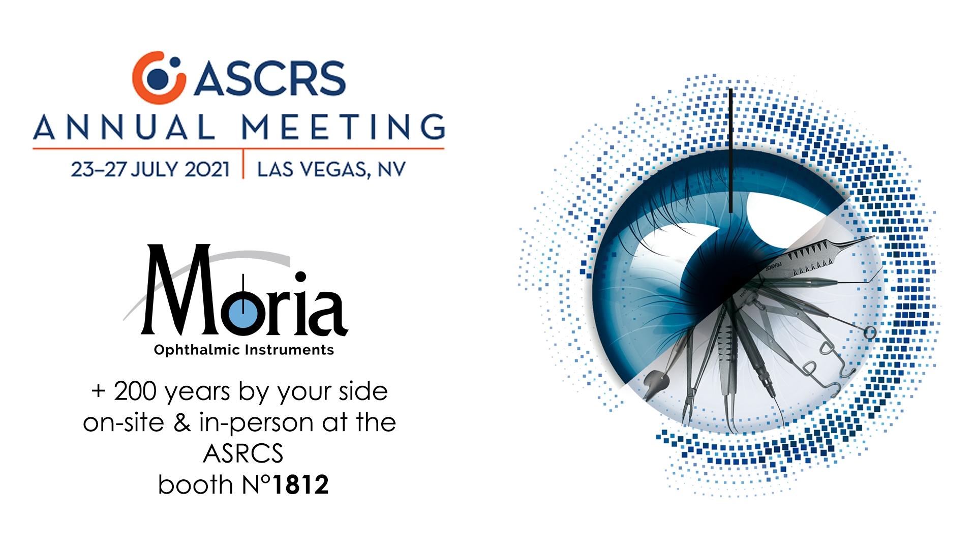 Welcome to the ASCRS in Las Vegas